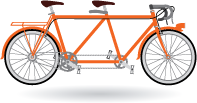 tandem speed bike